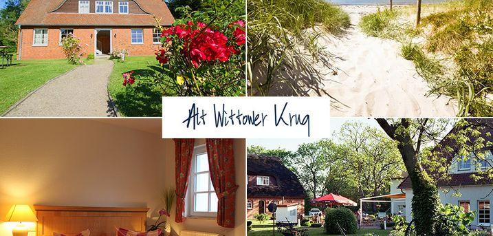 Ostsee - Landhotel Alt Wittower Krug - 5 Tage für Zwei in Wiek