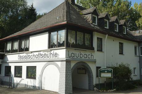 Hunsrück - Landgasthof Gesellschaftsmühle - 6 Tage zu zweit inkl. Halbpension