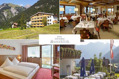 Vorarlberg - 3*Hotel Landhaus Sonnblick - 4 Tage für 2 Personen inkl. Halbpension