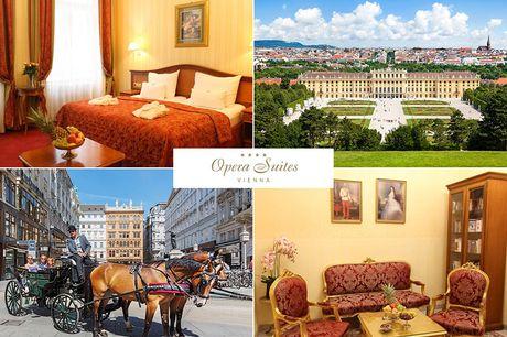 Wien - 4*Pension Opera Suites - 3 Tage zu zweit inkl. Frühstück