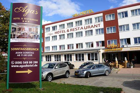 Berlin - 3*Aga's Hotel Berlin - 6 Tage für 2 Personen inkl. Frühstück