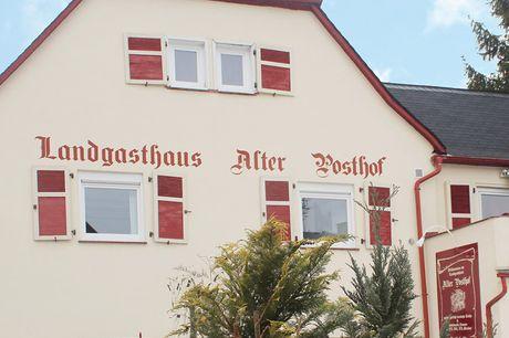 Hunsrück - Hotel Alter Posthof - 4 Tage für 2 Personen inkl. Frühstück