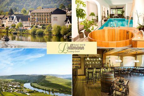 Mosel - 3*S Hotel Lellmann - 8 Tage für 2 Personen inkl. Halbpension