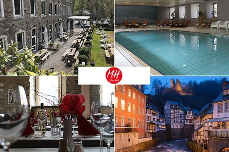 Eifel - 4*Michel & Friends Hotel Monschau - 4 Tage für Zwei inkl. Frühstück