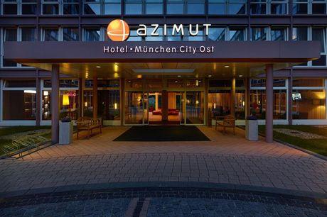 München - Azimut Hotel München City Ost - 3 Tage für Zwei inkl. Frühstück