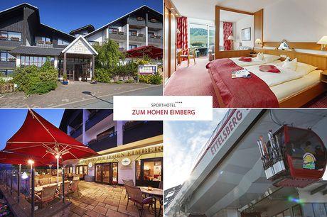 Sauerland - 4*Sporthotel Zum Hohen Eimberg - 4 Tage für Zwei inkl. Frühstück