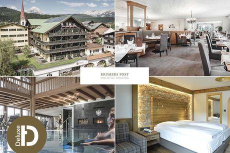 Tirol - 4*S Krumers Post Hotel - 4 Tage für Zwei inkl. Halbpension