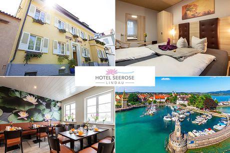 Bodensee - Hotel Seerose - 6 Tage für Zwei inkl. Frühstück