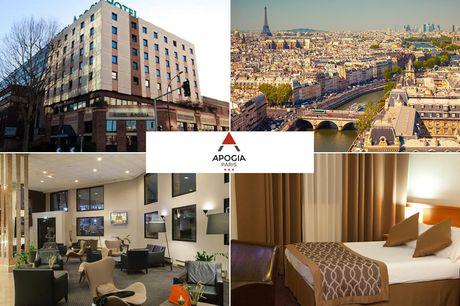Paris - 3*Hotel Apogia Paris - 4 Tage für 2 Personen inkl. Frühstück