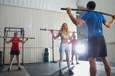 Five or Ten CrossFit Classes at CrossFit Hexis