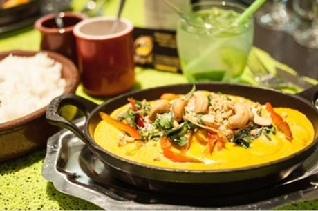 Menu brésilien en 3 services pour 2 convives au restaurant Porta da Selva