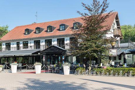 3 dagen in bosrijk Brabant Incl. ontbijt en een 2-gangendiner  4* Fletcher Hotel Jagershorst  Gelegen in het Leenderbos