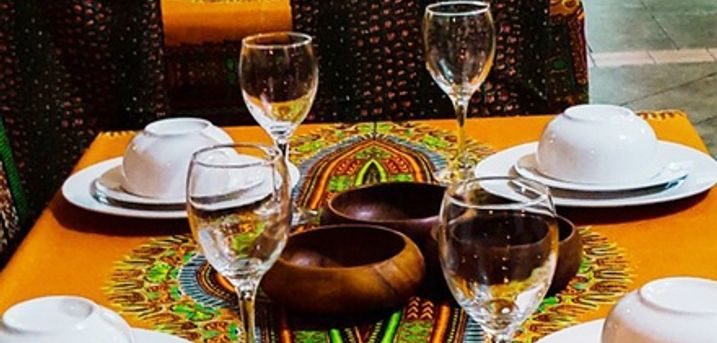Two-Course Afro-Caribbean Meal for Two or Four at Divine African & Caribbean Restaurant