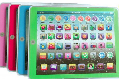 Børne tablet - pædagogisk legetøj til engelsk indlæring