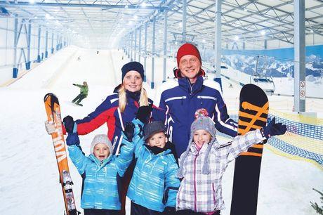 Indendørs ski i Nordtyskland inkl. forplejning og meget mere. Indendørs ski i Nordtyskland inkl. forplejning og fri adgang til ski-gear og aktiviteter