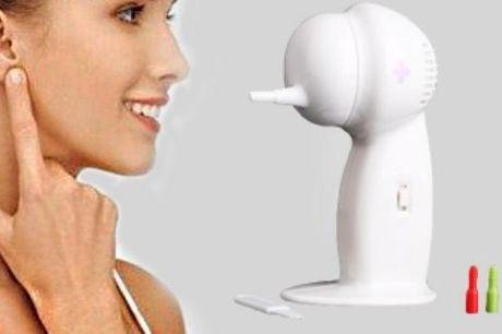 En ørevoks fjerner så du nemt kan rense dine ører