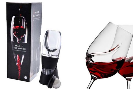 Wine Aerator     Perfect for wine lovers and enthusiasts     Time-saving device     Consume your aerated tipple in a matter of mere moments     Cut down the time required for your wine to breathe     Improve the flavour of your favourite bottle
