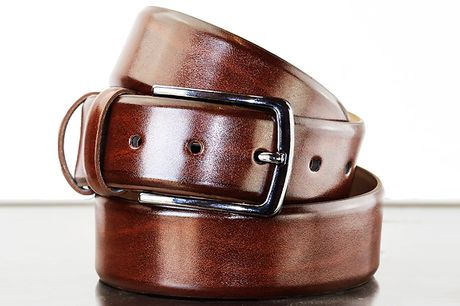 """Nielsen & Christensen PU Leather 'Skagerak' Belt - 3 Colours & 4 Sizes     Ideal for formal or casual looks     Adjustable with a single screw     Choose from 3 colours: black, dark brown or cognac brown     Available in 4 waist sizes: 32"""", 24"""", 36"""" o"""