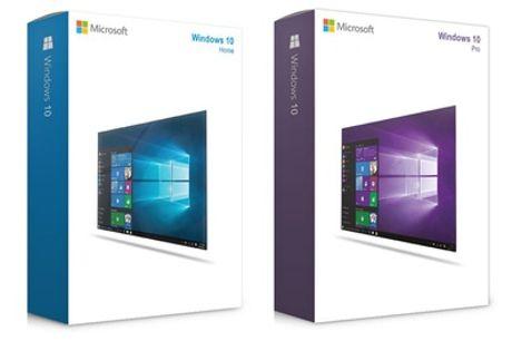 Microsoft Windows 10 Home o Microsoft Windows 10 Pro (descarga, envío gratuito)