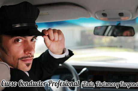 Curso Conductor Profesional de Taxis, Turismos y Furgonetas para Certificado Profesionalidad