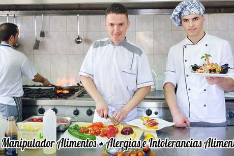 Curso Manipulador Alimentos + Alergias e Intolerancias Alimentarias