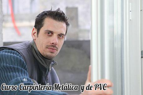 Curso Carpintería Metálica y de PVC para Certificado Profesionalidad