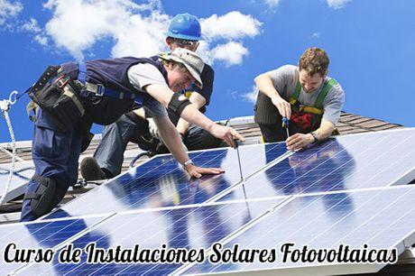 Curso de Instalaciones Solares Fotovoltaicas para el Certificado de Profesionalidad