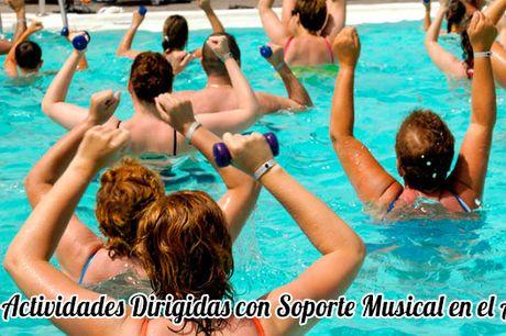 Curso de Actividades Dirigidas con Soporte Musical en el Agua