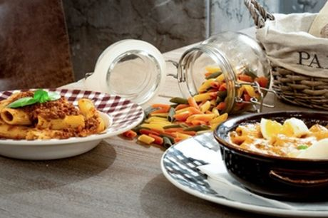 Two-Course Italian Meal with Wine or Soft Drink for Up to Four at Granaio London Piccadilly