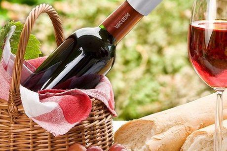 Weinverschluss aus Edelstahl. Verschliesst Weinflaschen luftdicht. Mit Vakuumknopf. Schützt Wein vor Oxidation. Zeitlos modernes Design