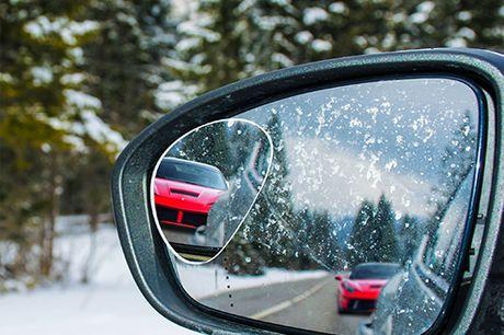 Einstellbarer Autospiegel für den toten Winkel. Sorgenfreies Fahren. Entfernt tote Winkel beim Fahren. Einstellbares, drehbares Rad, das eine Drehung in einen geeigneten Winkel ermöglicht. Rahmenloses Design. Einfache Installation an Autospiegeln.