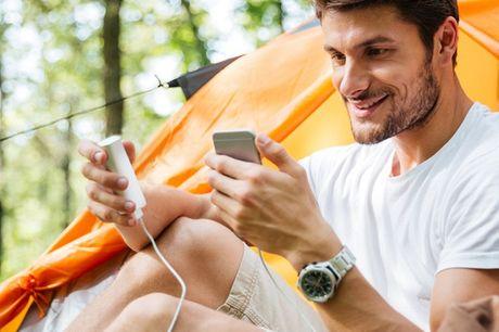 Günstige Power Bank. Lade dein Telefon den ganzen Tag lang auf. Klein, leicht und bequem zu tragen. Lädt die meisten digitalen Geräte, einschließlich iPhone, iPod, iPad, Android und mehr.