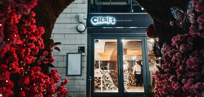 Two- or Three-Course Fine Dining Celebrity Chef Meal and Drink for Two or Four at Craft
