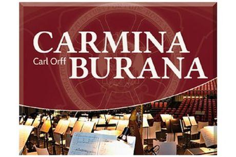 """2 Tickets für """"Carmina Burana"""" mit Orchester und Chor in Berlin, Hamburg, Düsseldorf oder Bremen (36% sparen)"""