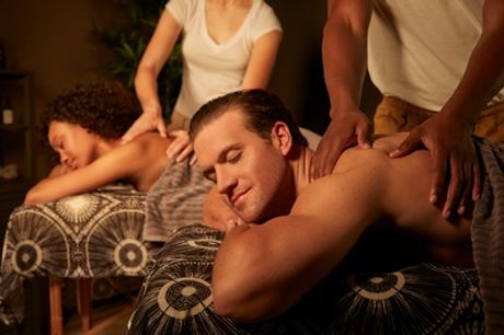 One-Hour Candlelit Couples Massage with Optional Refreshments at Beauty on the Spot