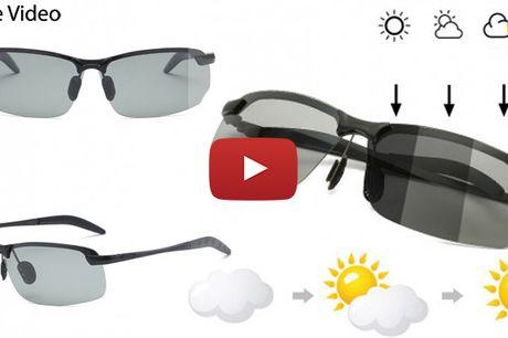Smarte solbriller der reducerer blænding fra solen og træthed i øjnene