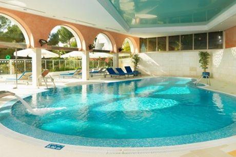Circuito spa para 2 con copa de cava y opción a masaje en Marítim Hotel Galatzó Spa (hasta 62%de descuento)