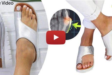 Behaglige sandalsko til kvinder