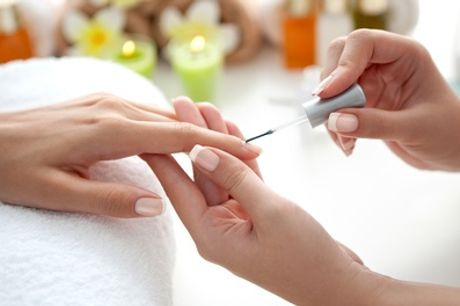 Classic Shellac Manicure, Pedicure or Both at Jessis Nails Spa