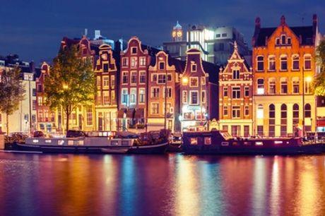 Hartje Amsterdam: standaard twee- of vierpersoonskamer in Savoy Hotel Amsterdam in 'de Pijp'