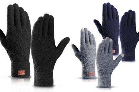 Hasta 3 pares guantes térmicos con touchscreen