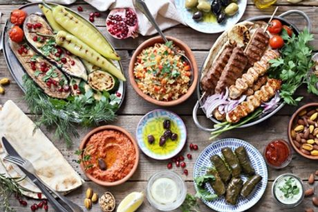 Ten or 20 Meze with One or Two Mains to Share for Two or Four at KOZ Turkish Barbecue & Meze Bar