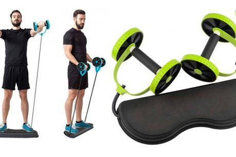 Træningsmaskine til styrke- og udholdenhedstræning af hele kroppen