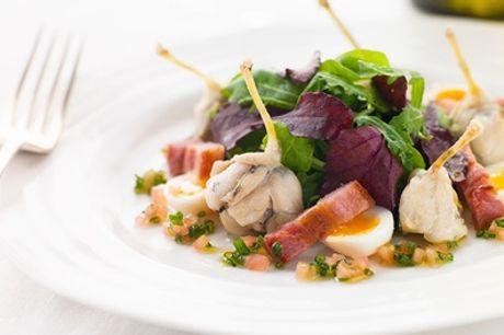 Cuisses de grenouilles à la Provençale et kir au vin pour 2 ou 4 personnes à l'Auberge Notre-Dame