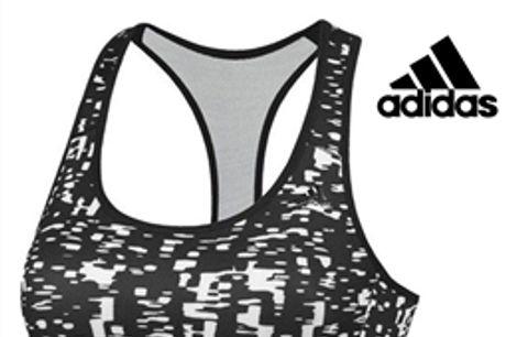 Adidas® Sutiã De Desporto Sports Racer   Tecnologia Climacool® - XS por 25.74€ PORTES INCLUÍDOS