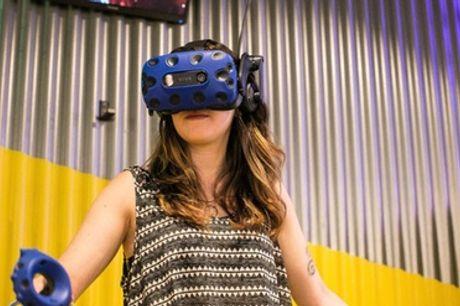 Formule découverte des jeux ou partie de jeu en réalité virtuelle d'1h à Virtual Planet