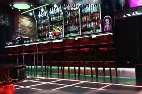 3 Cocktails oder Long Drinks pro Person inklusive Nachos bei NICE Cocktail Lounge Bar (bis zu 56% sparen*)