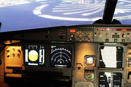 Pilot für einen Tag im Airbus-Simulator.  Ready for take off! Jetzt Pilot sein und einen Airbus 320 durch die Lüfte bewegen. Erleben Sie 30 Minuten im Simulator von EVS Flighttraining. Sie zahlen für dieses einmalige Erlebnis 59 € pro Person statt 99 €. 3