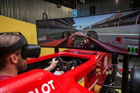 Simulateur professionnel ou partie de racing Formule 1 en réalité virtuelle de 30 min à Virtual Planet