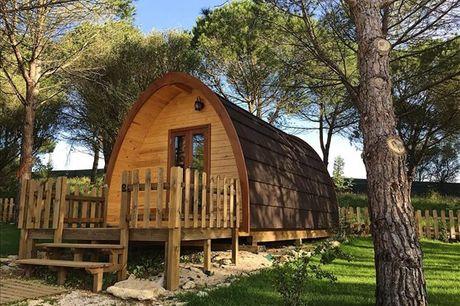 Com vista para a vila de Sintra e para os seus palácios e no meio da Natureza, o Glamping Sintra é o sítio ideal para desfrutar de umas mini-férias tranquilas. Aproveite agora, 1 ou 2 noites, para 2 pessoas, a partir de 79,90€